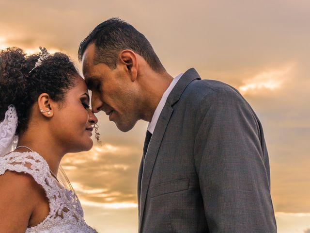 O casamento de Denise e Isaias