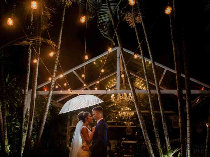 O casamento de Jennifer e André