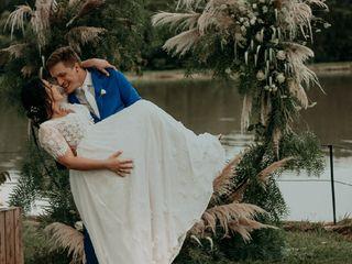 O casamento de Maria e Andrei