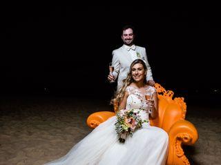 O casamento de Stephania e Victor