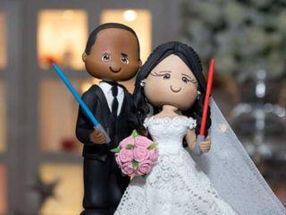 O casamento de Esther e Rodrigo