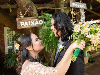 O casamento de Sara e Weslem
