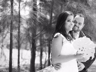 O casamento de Cybele  e Weuler  2