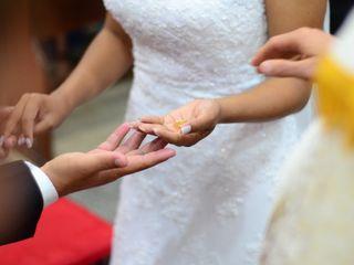 O casamento de Cybele  e Weuler  3
