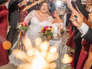 O casamento de Stella e Alê
