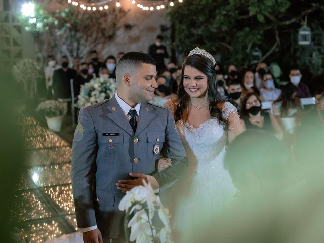 O casamento de Larissa e Glauber