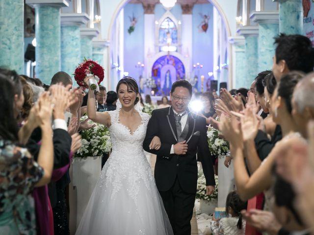 O casamento de Cristiane e Fábio
