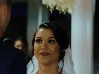 O casamento de Carita e Dener 1