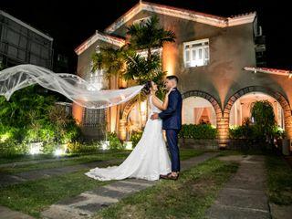 O casamento de Jacqueline e Leonardo