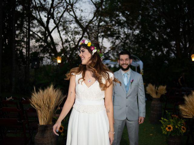 O casamento de Alyne e Pedro