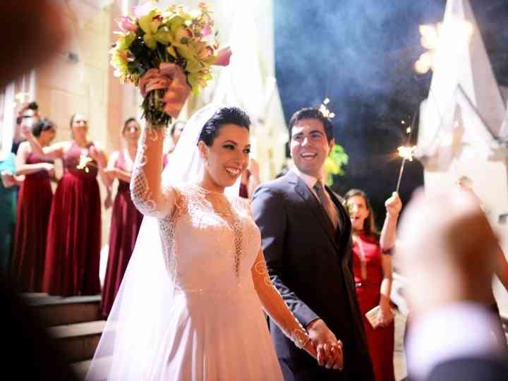 O casamento de Bia e Pedro