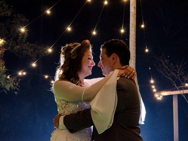 O casamento de Silene e Márcio