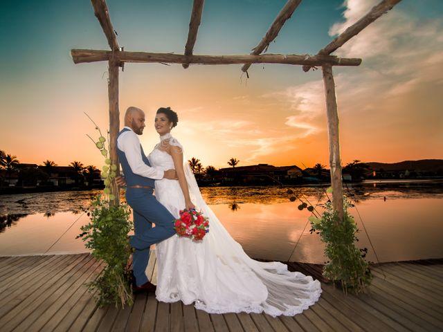 O casamento de Tharini e Everaldo