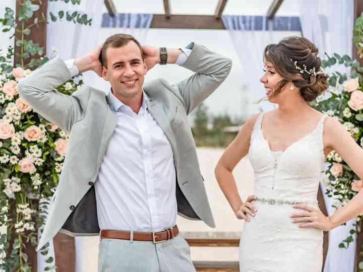 O casamento de Natalia e Korem