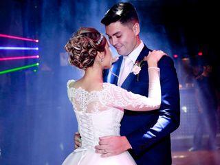 O casamento de Alyne e Leandro