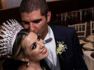 O casamento de Camila e Mohamad