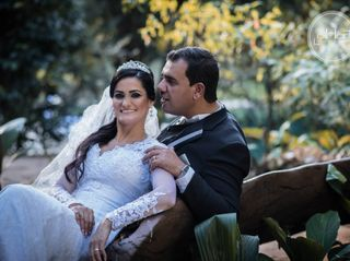 O casamento de Diego e Juverci 1