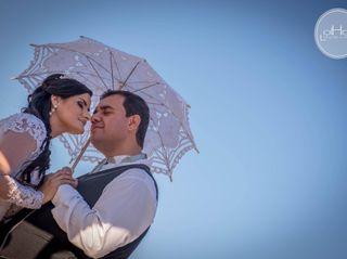 O casamento de Diego e Juverci