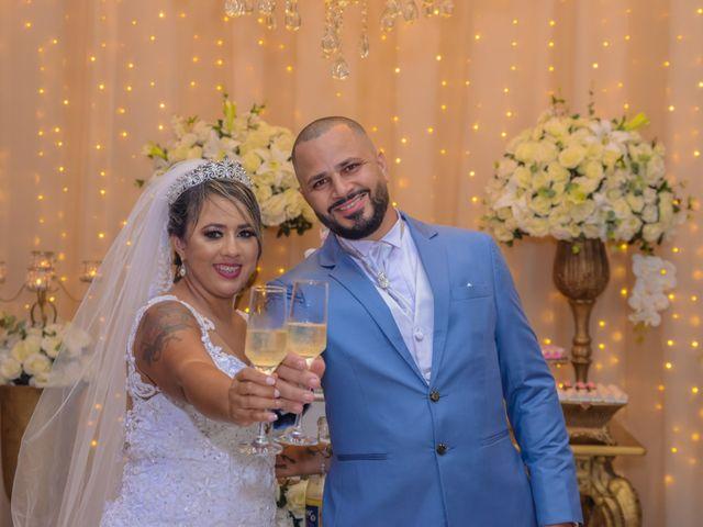 O casamento de Ericka e Fernando