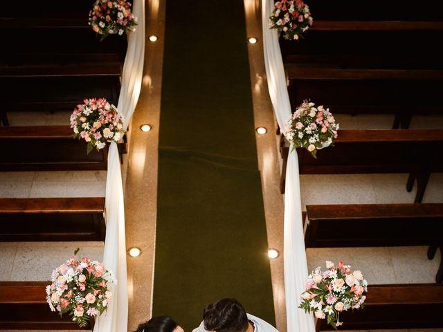 O casamento de Viviane e Júnior
