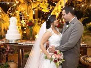 O casamento de Moema e Fábio