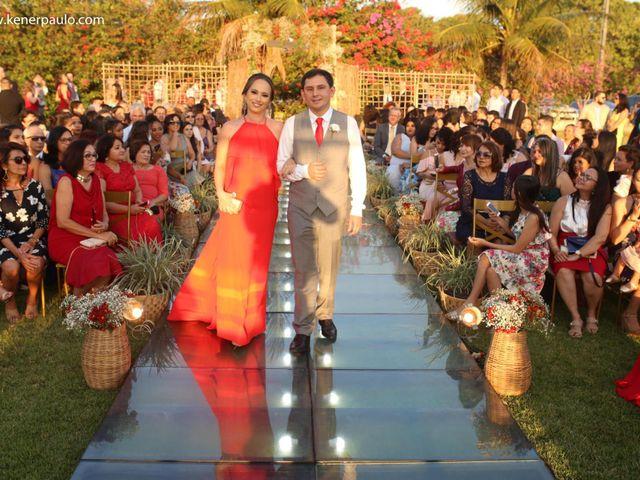 O casamento de Fábio e Moema em Parnamirim, Rio Grande do Norte 40