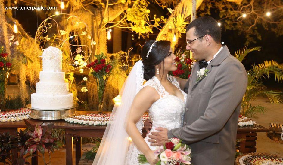 O casamento de Fábio e Moema em Parnamirim, Rio Grande do Norte