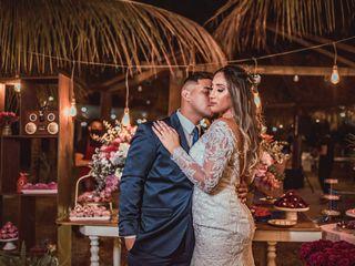 O casamento de Carine e Wesley
