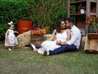 O casamento de Caio e Caroline