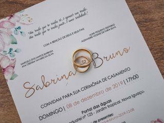O casamento de Sabrina e Bruno 1