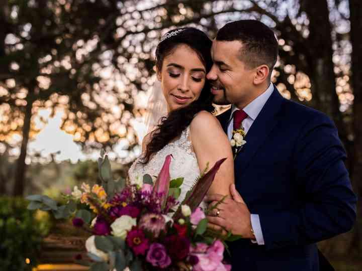 O casamento de Priscila e Marcos