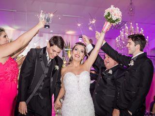 O casamento de Alexia e Carlos