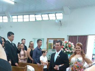 O casamento de Valquíria  e Airton 1