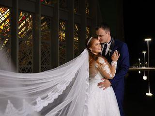 O casamento de Valquíria  e Airton