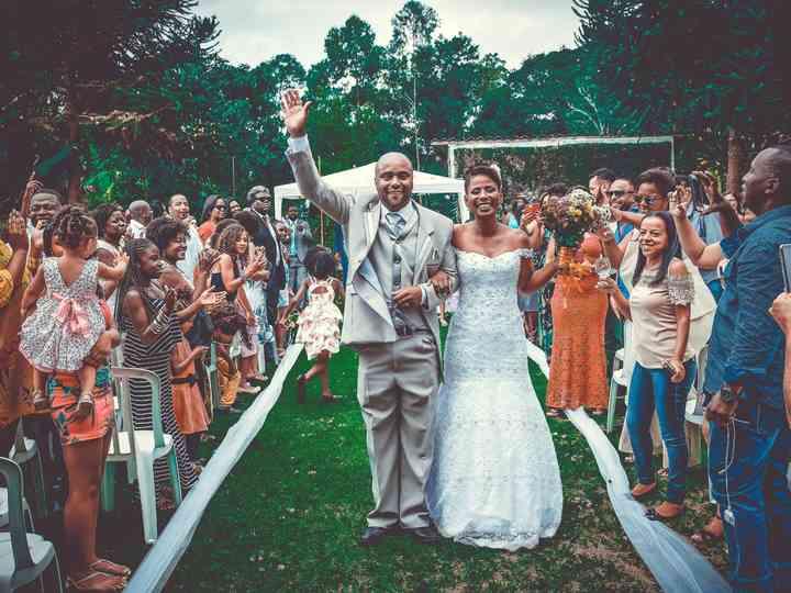 O casamento de Elen e Marcio