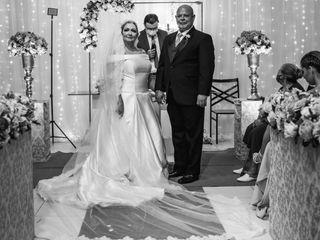 O casamento de Fabíola e Adriano
