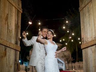 O casamento de Viviane e Phábio