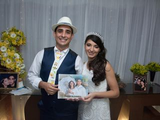 O casamento de Daniele  e Leandro