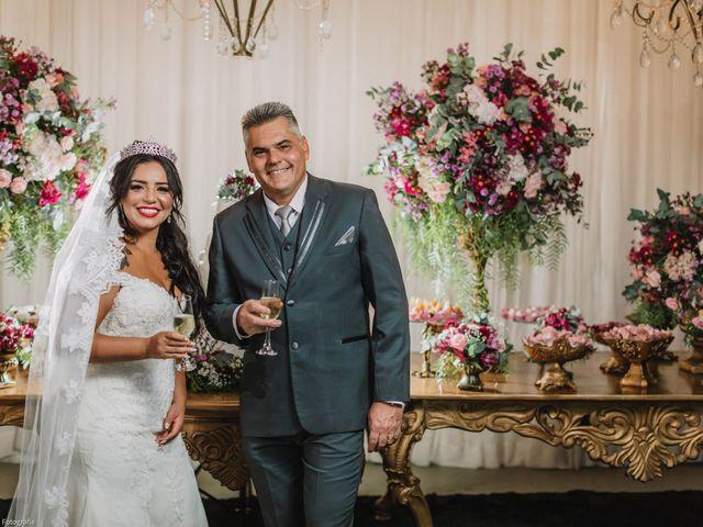O casamento de Polyana e Sandro