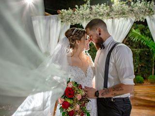 O casamento de Bruna e David