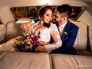 O casamento de Lucas  e Daffiny 1