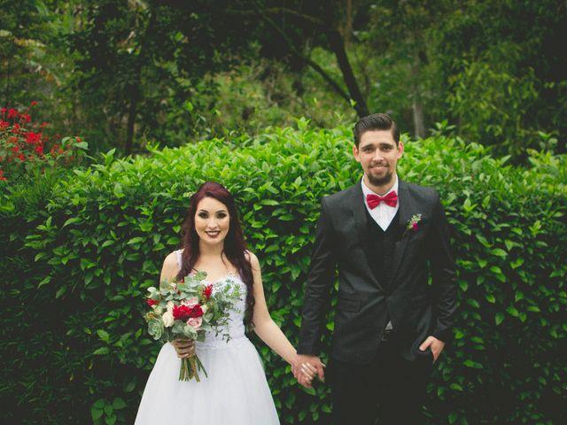 O casamento de Aline e Ronan