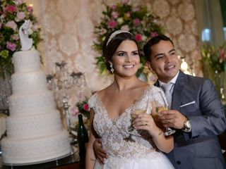 O casamento de Danielle e Rômulo
