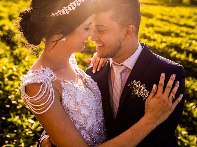 O casamento de Carla e Naldo