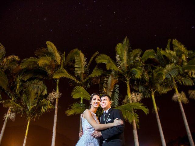 O casamento de Camila e Gustavo