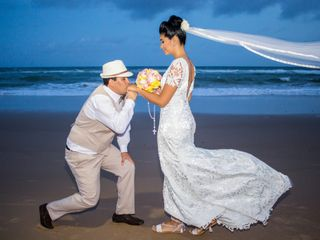 O casamento de Içara e Lucas
