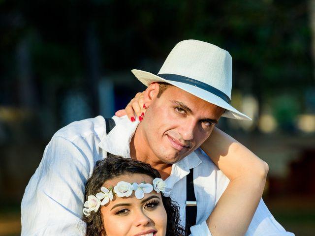 O casamento de Lais e Caique