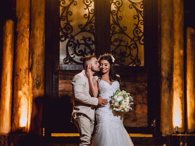 O casamento de Flávio e Bruna