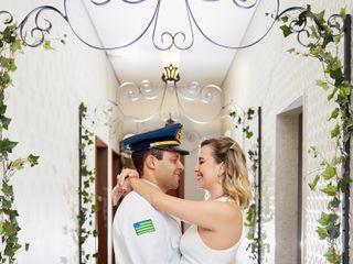 O casamento de Kamila e Diogo
