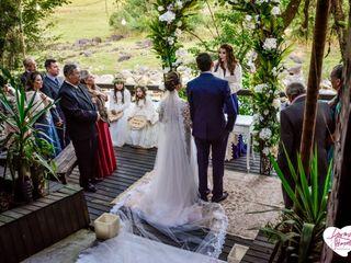 O casamento de Ariane e Josiel